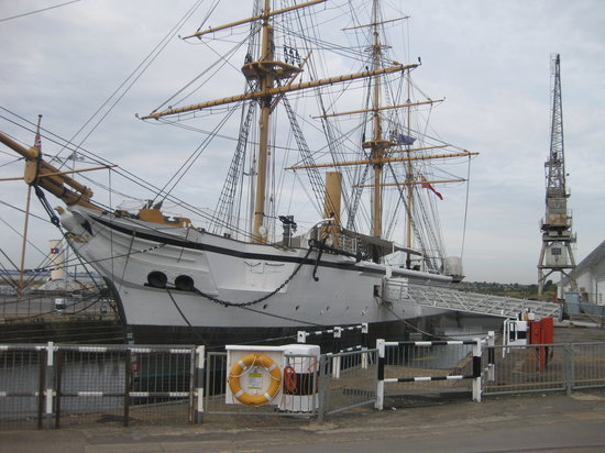Chatham, UK: Ended her life as a training ship