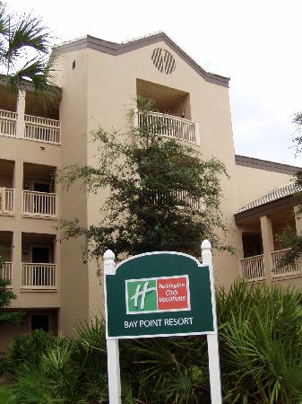 Holiday Inn Club Vacations at Bay Point Resort: HICV at Bay Point - Sign