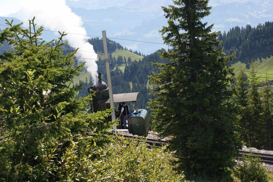 Lucerne, Switzerland: Rigi: historic railway