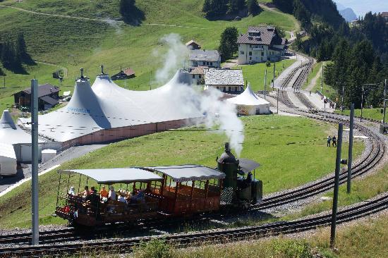 Mt. Rigi : Rigi: historic railway