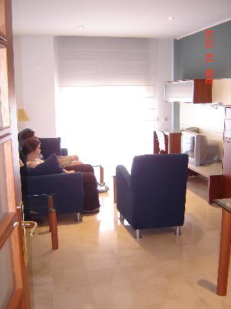 Apartaments Marina : Living/dining room