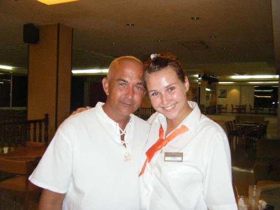 Hotel Condesa de la Bahia: My fav waitress <3