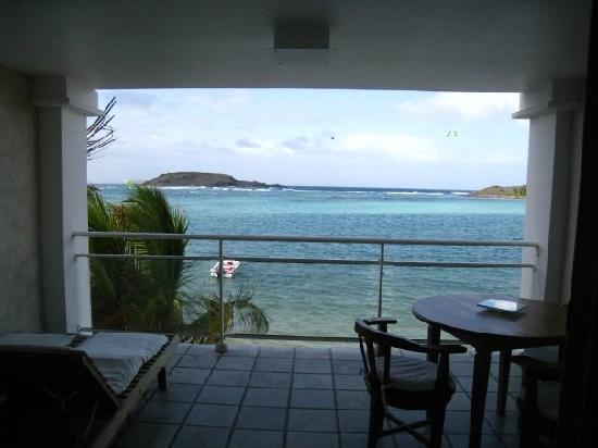 Grand Cul-de-Sac, St. Barthelemy: View from the Kitchen