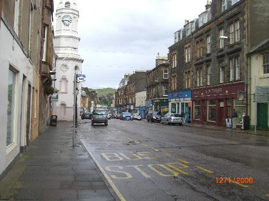 Craigard House Hotel: high street