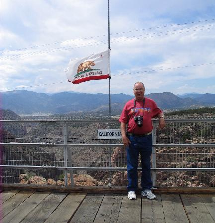 Royal Gorge Bridge and Park: Do I look scared?