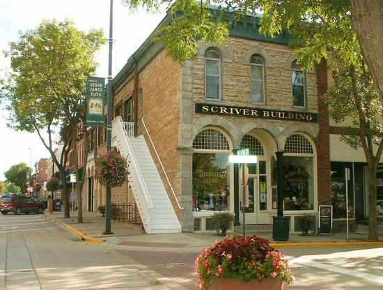 Northfield, MN: Scriver Bldg home of Museum