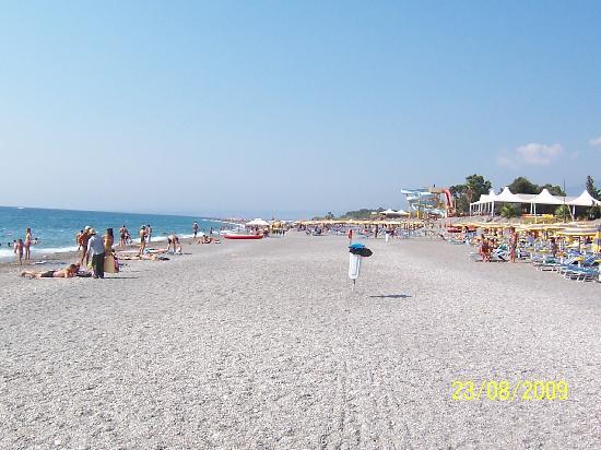 Spiaggia dell albergo picture of unahotels naxos beach sicilia