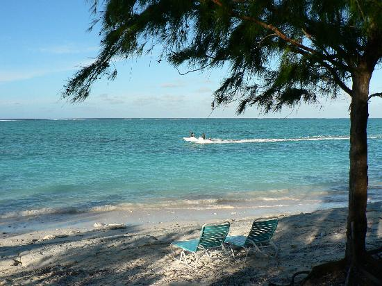 Beach In Front Of Pelican Hotel North Caicos