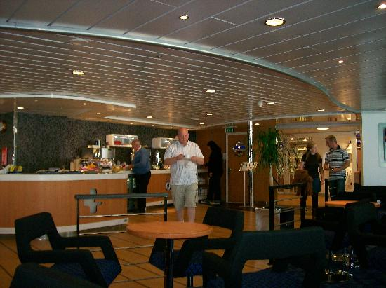 Stena Line Limited - Day Trips: The wonderful Buffet in the stena plus lounge (Stena Adventura)