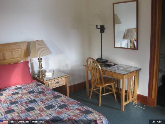 Swan Hotel: Bedroom