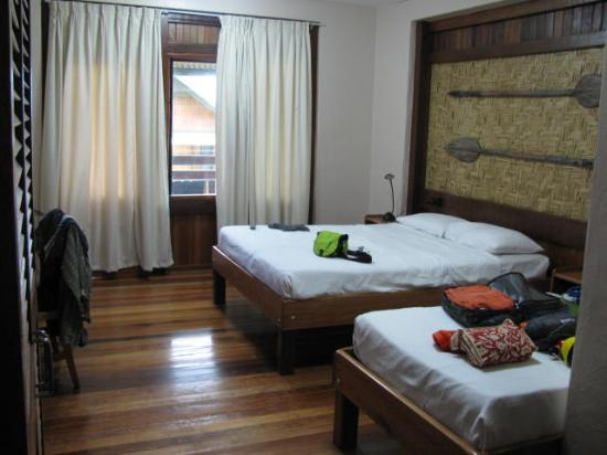 East New Britain, Papua New Guinea: Im Zimmer
