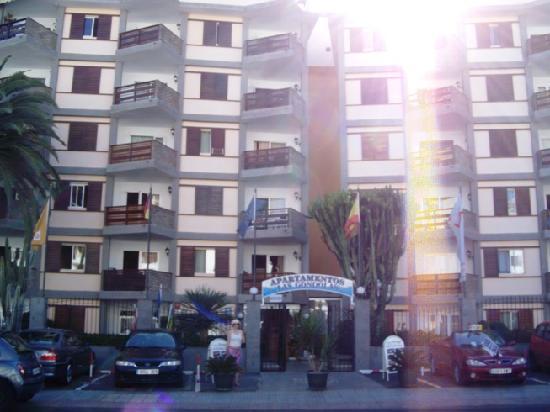 Las Gondolas Apartments : Vue sur l'appart-hôtel