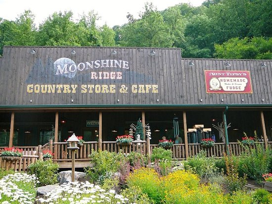 Exterior of Moonshine Ridge