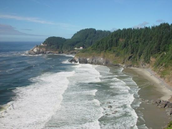 นิวพอร์ต, ออริกอน: Oregon Beach