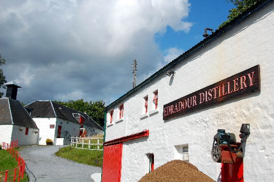 Blair Cottage Bed and Breakfast : Edradour Distillery, Pitlochry.