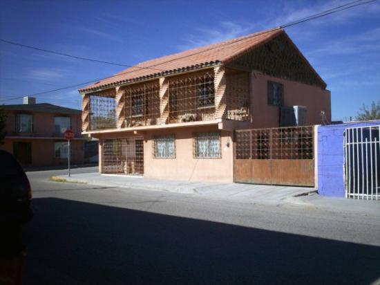 Ciudad Juarez, เม็กซิโก: Juarez neighborhood we lived in