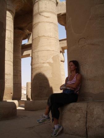 Luxor, Egipto: The Ramesseum.  Kuxor West Bank oct 2006