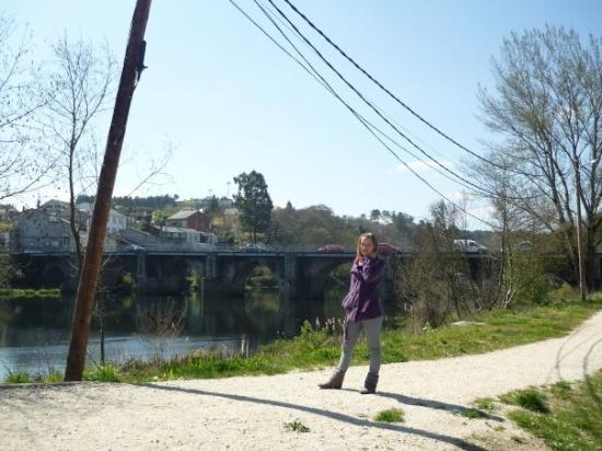 Ourense, สเปน: Puente Romano
