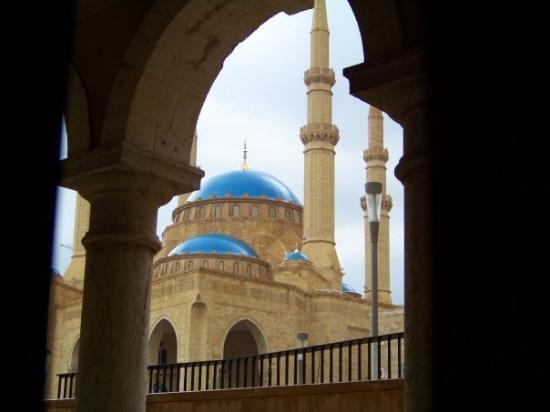 Beyrouth, Liban : Mosquée Hariri