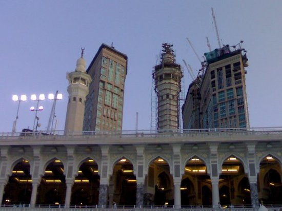 Meca, Arabia Saudita: Bin laden Towers in making