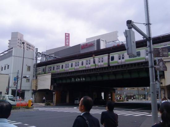 ชินากาวา, ญี่ปุ่น: Gotanda station with Yamanote line
