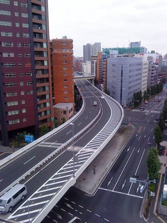 Shinagawa, Japão: From my flat with highway
