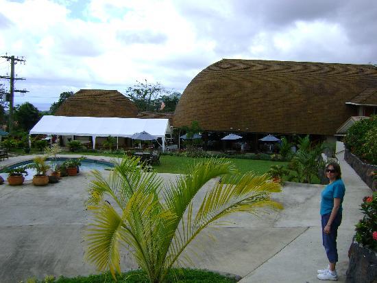 Le Manumea Hotel: Hotel grounds