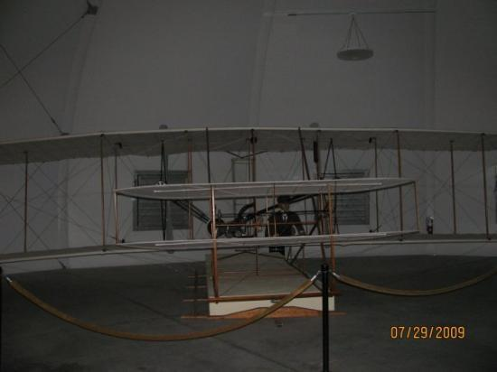 Wright Brothers National Memorial: The plane boss, the plane.