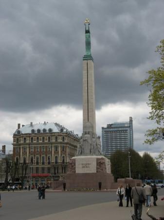 Freedom Monument (Brivibas Piemineklis): 7 maj 2007