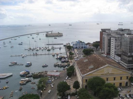Mercado Modelo: vistas desde el Elevador Lacerda  Salvador de Bahía