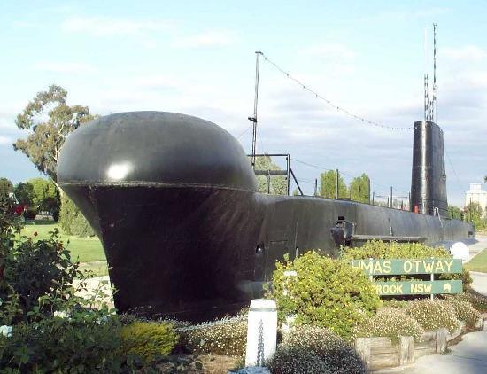 Hmas Otway Quot Submarine Park Quot Holbrook Picture Of Holbrook