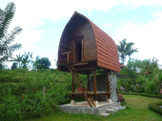 """Sidemen, Indonesië: la fameuse """"cabane"""""""