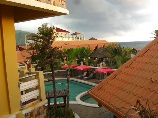 Punta de Uian Resort & Hotel: View from the room