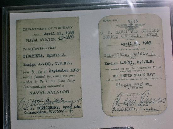 Intrepid Sea, Air & Space Museum : documenti dell'epoca