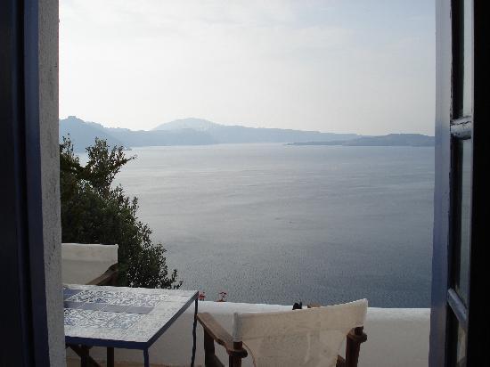 Ifestio Villas: Balcony view