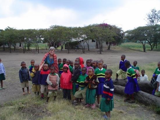 In Sanya Juu, near Moshi, Tanzania