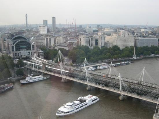 Hungerford Bridge Picture Of Victoria Embankment London Tripadvisor