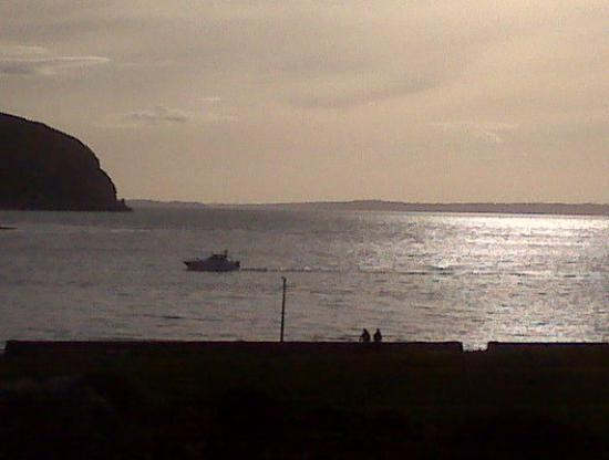 Views from mums place in Deganwy beach