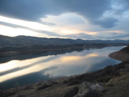 Horsetooth reservoir picture of fort collins colorado for Cabin rentals near fort collins colorado