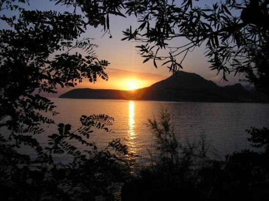 Sutomore, Montenegro: Západ slunce