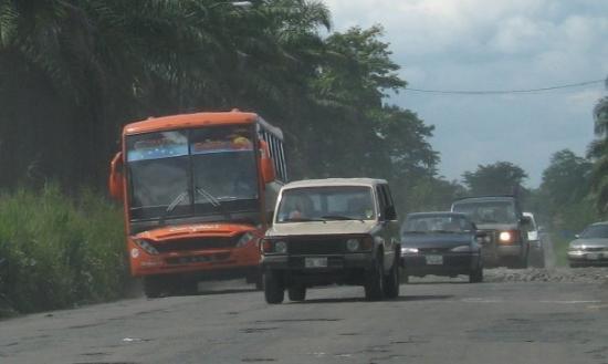 On the road to Esmeraldas province; ecuador '06
