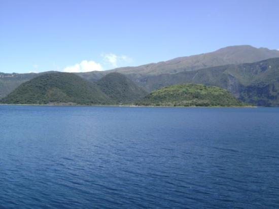 Lac de Cuicocha (cratère au sud du volcan éteint Cotacachi) - province d'Imbabura Lac de Cuicoch