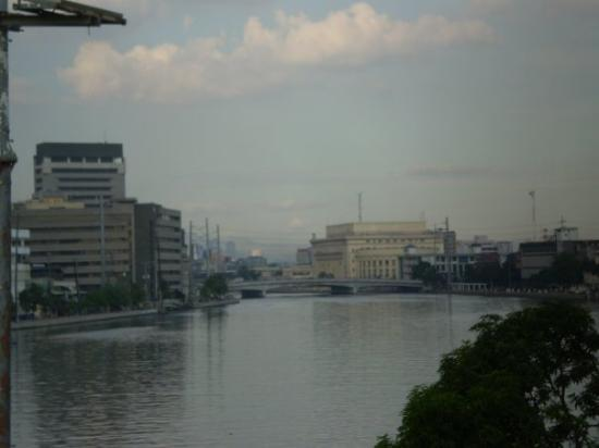 Pasig River in Manila.