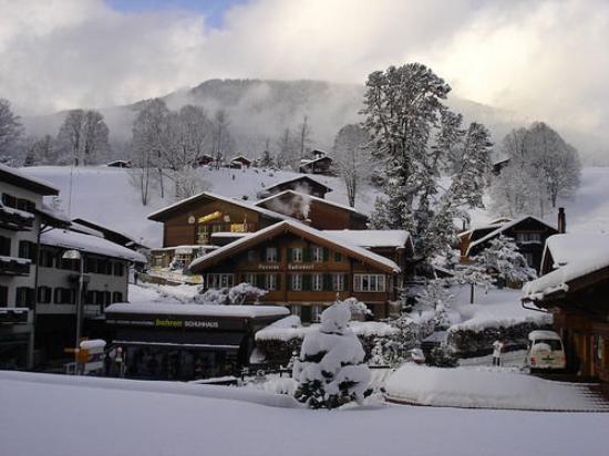 Schaffhausen, Suiza: New Year's Eve in Switzerland.