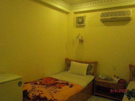 Duna Hotel: エアコン完備