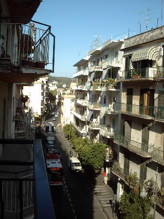 Hotel Tourist : View from balconey looking towards Piazza De Tasso
