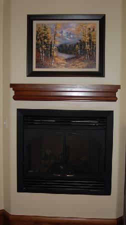 Tivoli Lodge: Fireplace