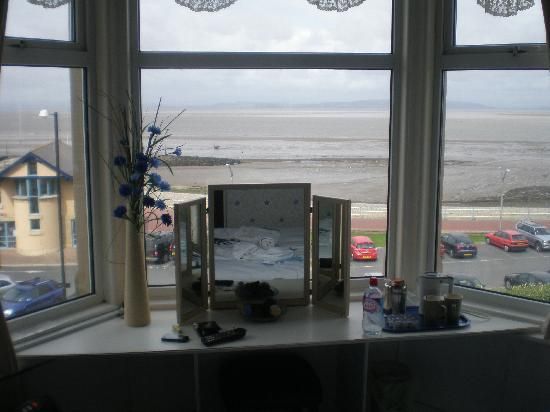 The Morecambe Bay Hotel: the view