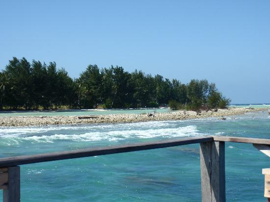 Kura Kura Resort: la laguna