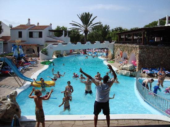 Talayot: main pool daytime fun